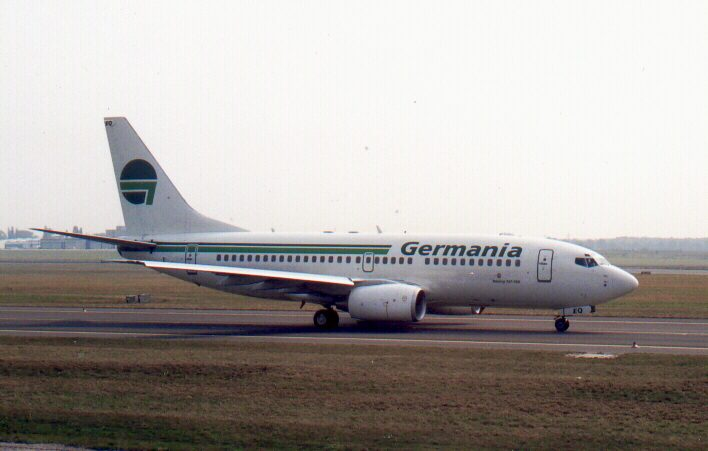 Boeing 737-75B D-AGEQ (SXF 19.9.'99)